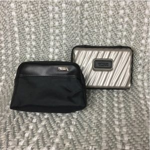 Tumi First Class Toiletry Bags- Set of 2